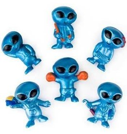 "Rhode Island Novelty 1"" Blue Alien Bendable - Each"