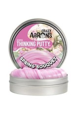 """Crazy Aaron Putty Spring Bouquet Scented 4"""" Tin"""