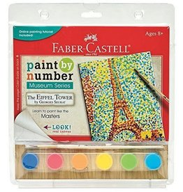 Faber-Castel Paint By Number Museum Series-The Eiffel Tower