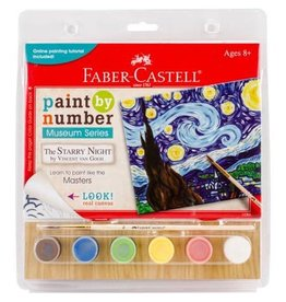 Faber-Castel Paint By Number Museum Series-The Starry Night