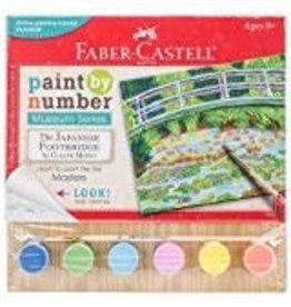 Faber-Castel Paint By Number Museum Series-The Japanese Footbridge
