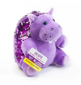 Creativity for kids Sequin Pet- Hope the Hippo