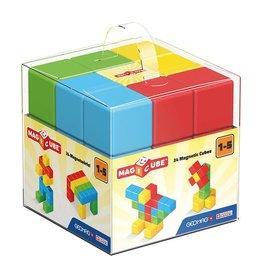 MagiCube MagiCube Magnetic Multicolored Preschool Blocks (24 piece)