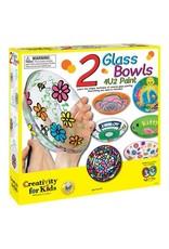 Creativity for kids 2 Glass Bowls 4U2 Paint