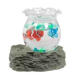 Warm and Fuzzy Toys Tropical Fish Bowl