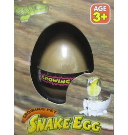 Warm and Fuzzy Toys Growing Pet Snake Egg