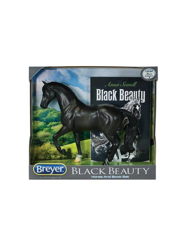 Breyer Black Beauty Horse and Book Set - NEW