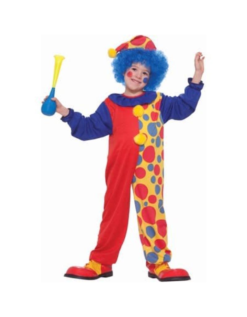 Forum Novelties Children's Clown Costume - Boys Small 4-6