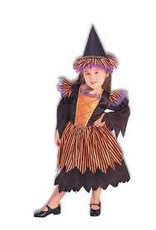 Forum Novelties Story Book Witch Costume - Small 4-6
