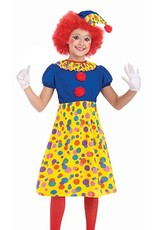 Forum Novelties Clown Costume - Girls Small