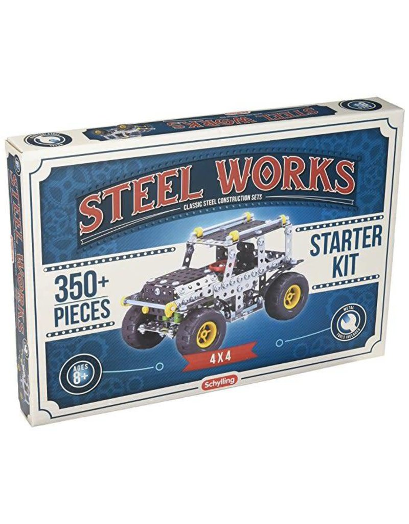 Schylling Toys Steel Works - 4 X 4 Vehicle