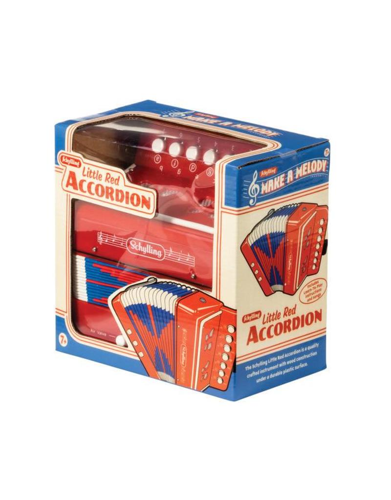 Schylling Toys Little Red Accordion