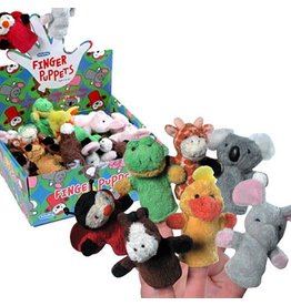 Schylling Toys Plush Finger Puppets-Asst