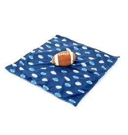 Kids Preferred Football Cuddle Plush Blanket