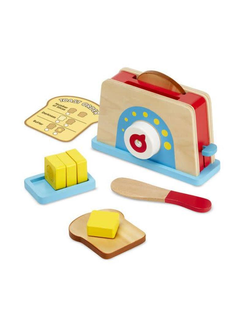 Melissa & Doug Bread & Butter Toaster Set