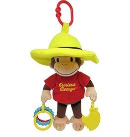 Kids Preferred Curious George- Developmental Activity Toy (smaller) 11.5