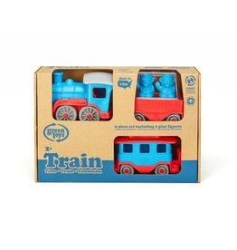 Green Toys Train with Play Figures