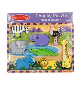 Melissa & Doug Chunky Puzzle - Safari Animals