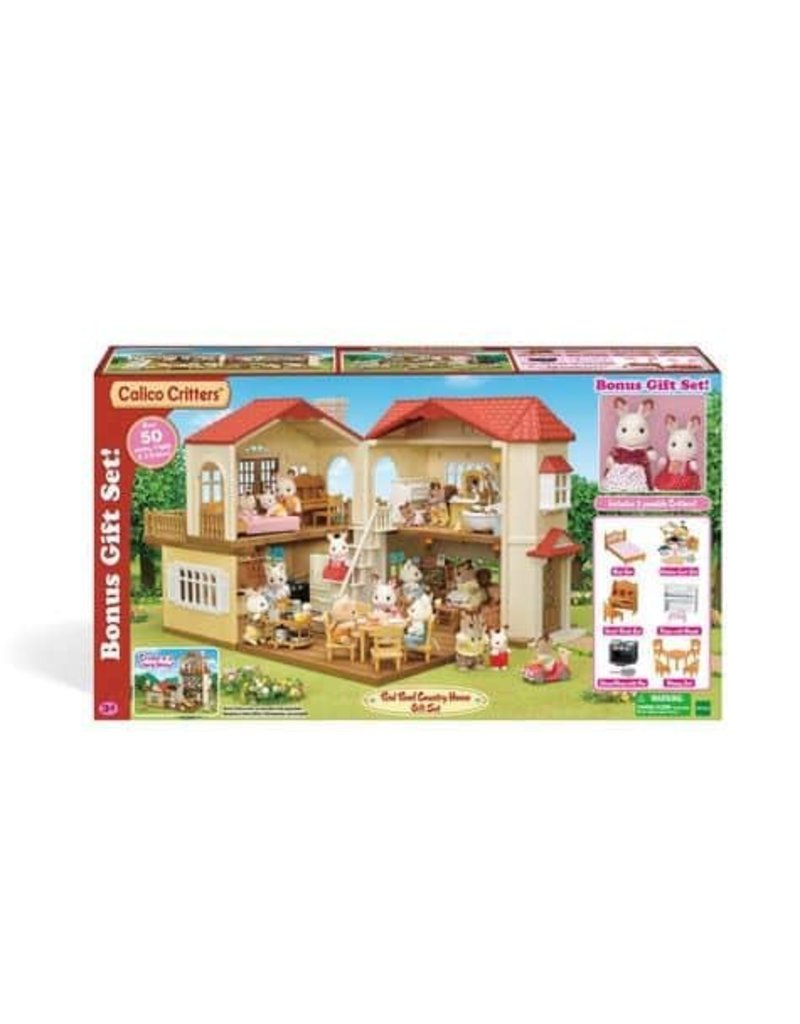 Epoch Calico Critters Red Roof Country Home