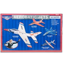 Be Amazing Toys Aerobatic Jets - 4 planes with display stands