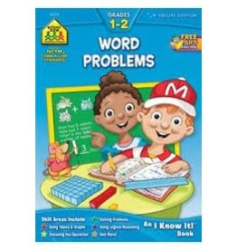School Zone Word Problems - Grade 1-2