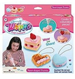Whipple Heart-shaped Pastries