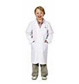 Aeromax Jr. Lab Coat, 3/4 Length, size 8/10