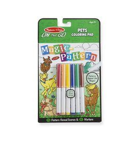Melissa & Doug On the Go - Pets Coloring Pad