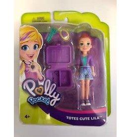 Mattel Polly Pocket Totes Cute Lila