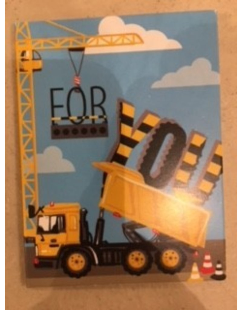 Paper House Production Construction Vehicles Gift Enclosure