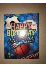 Paper House Production All Star Birthday Gift Enclosure
