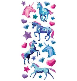Paper House Production Unicorn Puffy Stickers