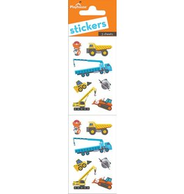 Paper House Production Construction Vehicles Stickers
