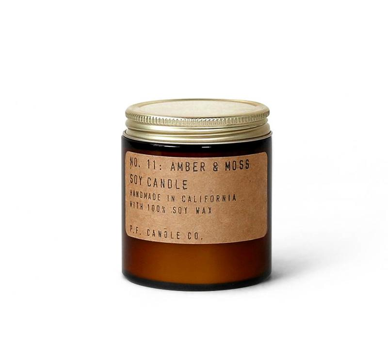P.F. Candle Co. - No. 11 Amber & Moss 3.5 oz Soy Candle