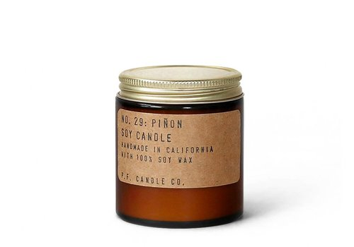 P.F. Candle Co. No. 29 Piñon 3.5 oz Soy Candle