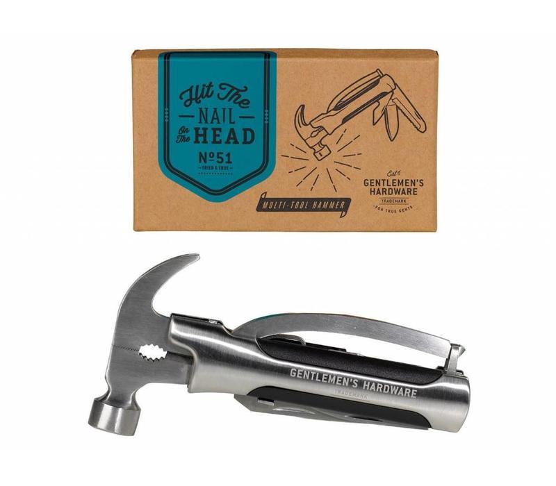 Gentlemen's Hardware - Multi Purpose Hammer Tool