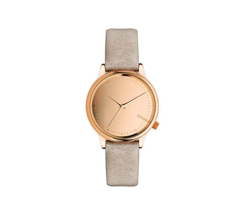 Komono - Estelle Mirror Rose Gold/Grey