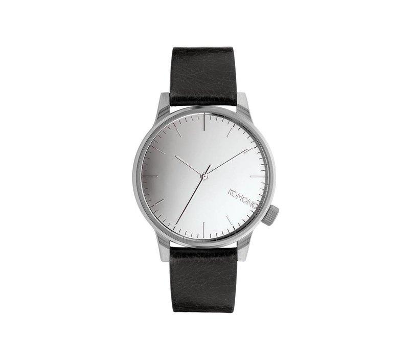 Komono - Winston Mirror Silver/Black