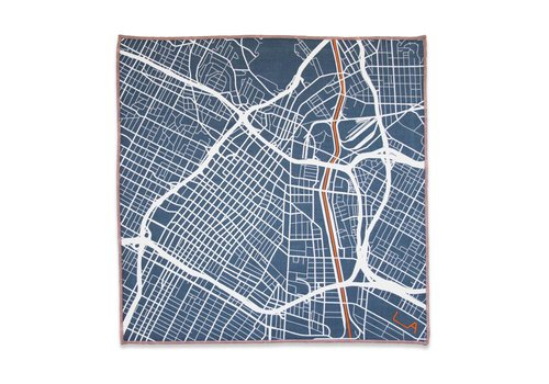 LA Original The Downtowner Pocket Square