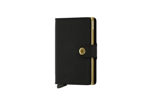 Secrid Miniwallet - Crisple Black Gold