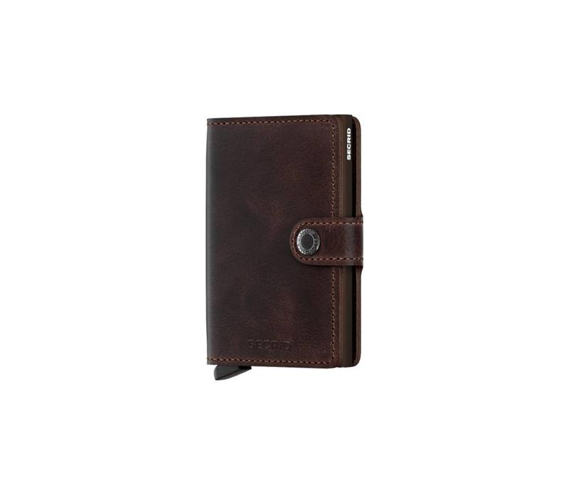 Secrid- Miniwallet - Vintage Chocolate