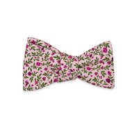 The Angelika Floral Bow Tie