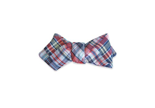 Pocket Square Clothing The Madras Bow Tie