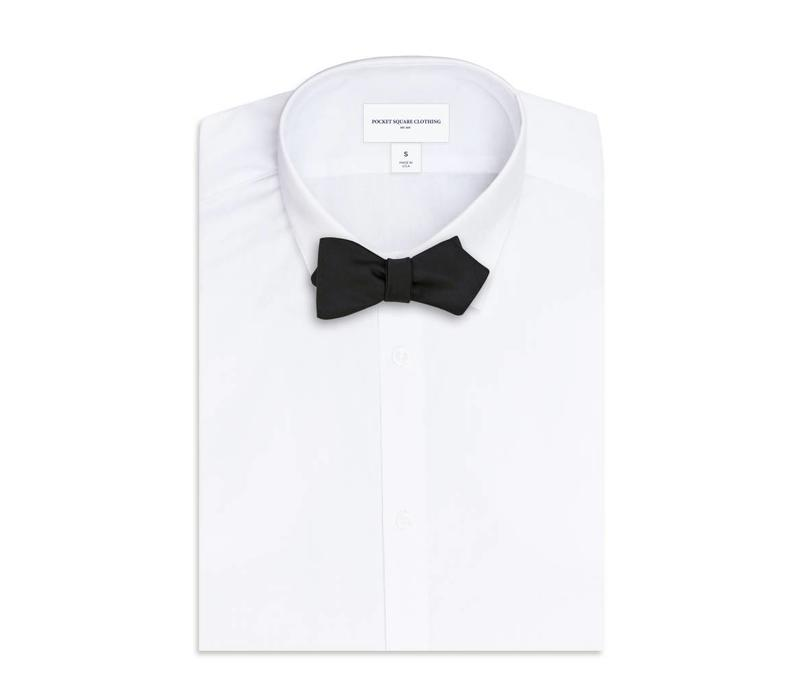 The Wallace Black Bow Tie