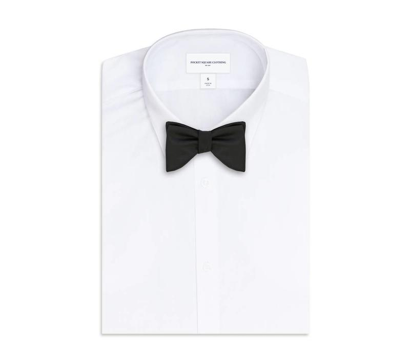 The West Black Bow Tie