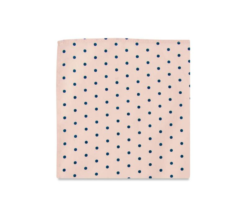 The Lowell Polka Dot Pocket Square