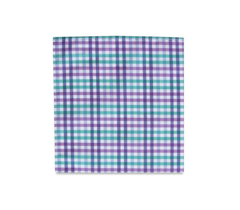 The Dario Cotton Pocket Square