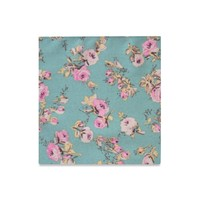 The Fleur Floral Pocket Square
