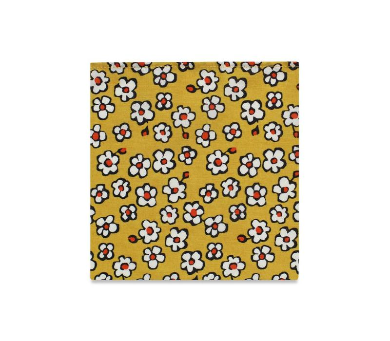 The Melanie Floral Pocket Square