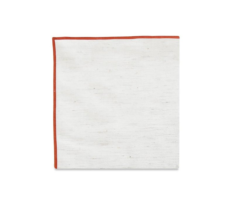 The Merrow (Burnt Orange) Pocket Square